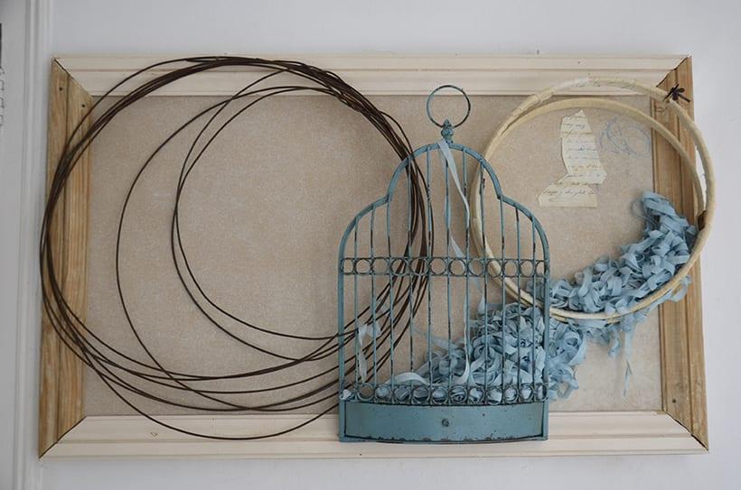 """Príncipe Azul "". Montaje Escultura Collage Arte. Poesía visual. Dreaming Art. Material antigüo. Técnica Upcycling. 7"