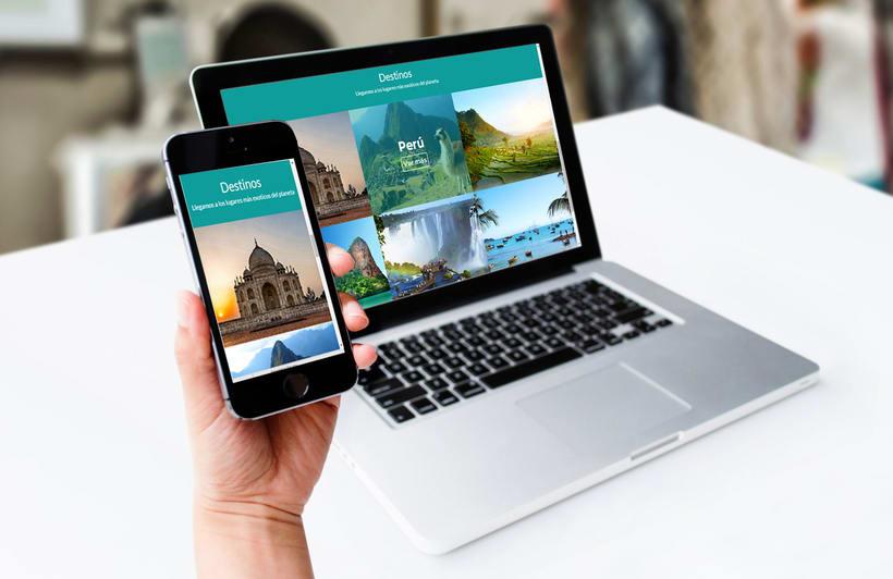 Web Mahindra Viajes - Proyecto en desarrollo 2