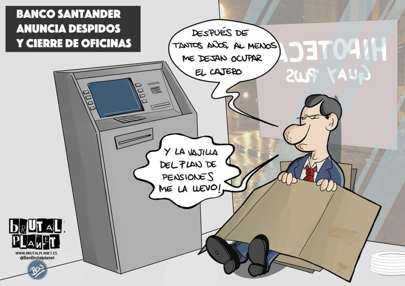 Proyecto final: huelga en Francia / Despidos en el Santander 0