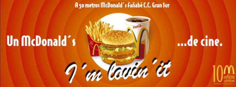 Mc DONALDS - UN Mc DONALDS DE CINE  -1
