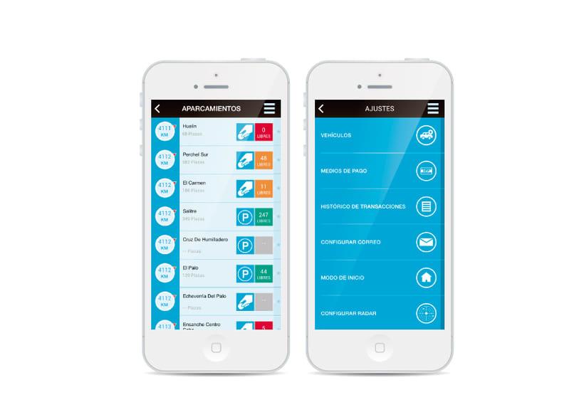 Smartpark  Smassa mobile app 3