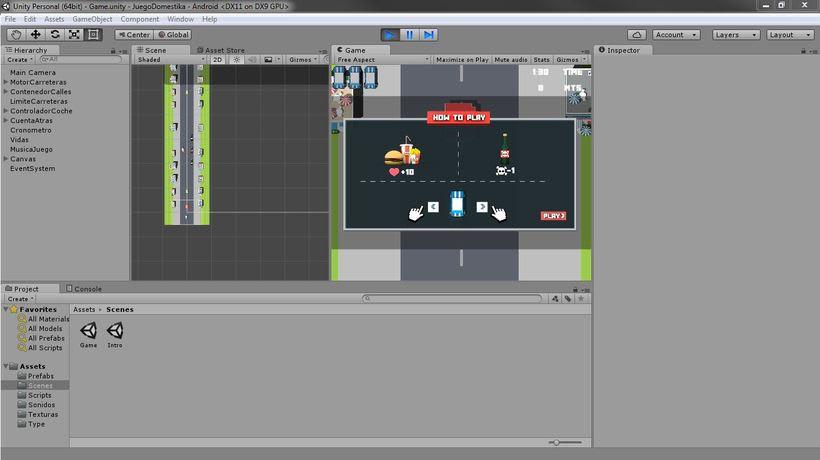 Mi Proyecto del curso: Diseño y Programación de videojuegos con Unity 5 -1