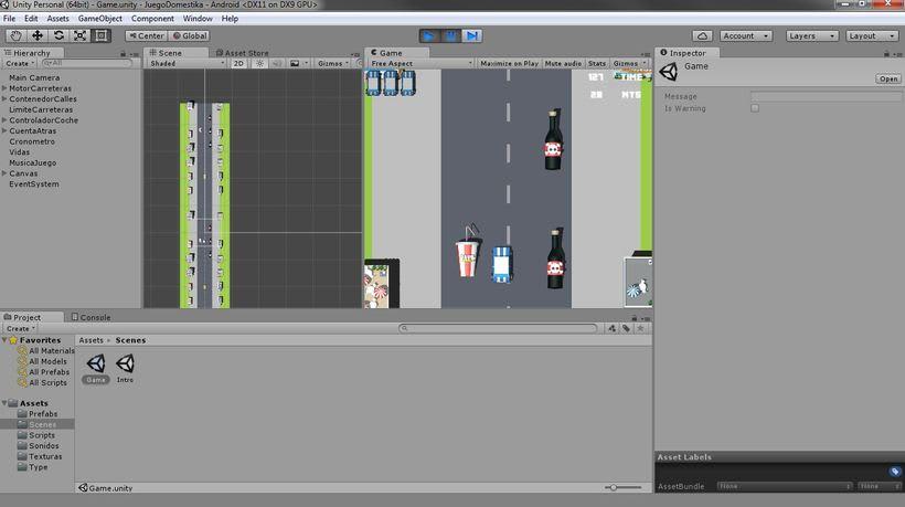 Mi Proyecto del curso: Diseño y Programación de videojuegos con Unity 5 1