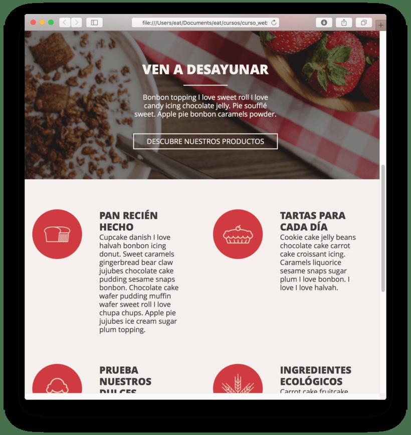 Mi Proyecto del curso: Introducción al Desarrollo Web Responsive con HTML y CSS 4