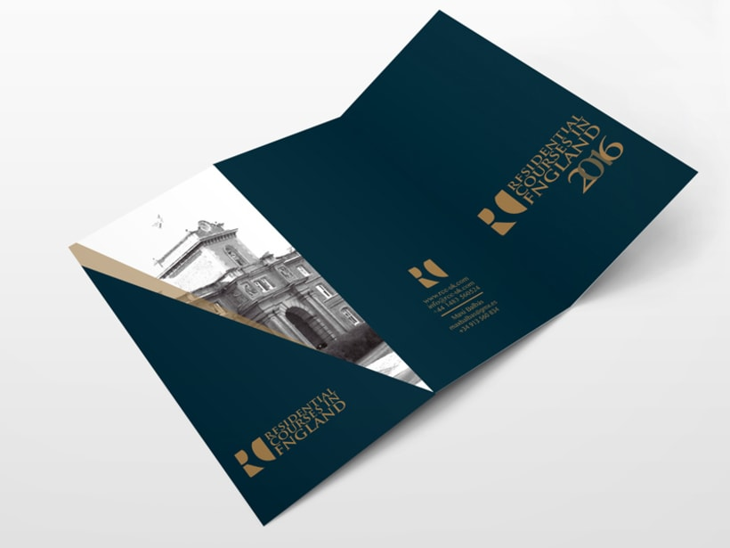 Branding RCE Residential Courses in England Identity · Design · Web 5