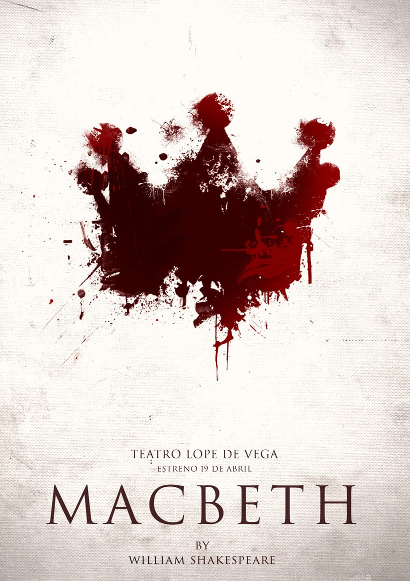 Carteles - Obra de teatro Macbeth 0