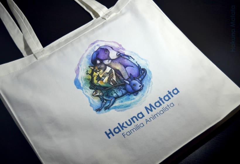"""Adaptación del logo """"Hakuna Matata - Familia animalista"""" 0"""