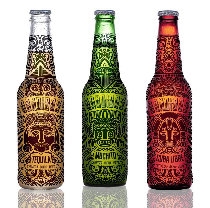 BANDIDOS / beer labels 0