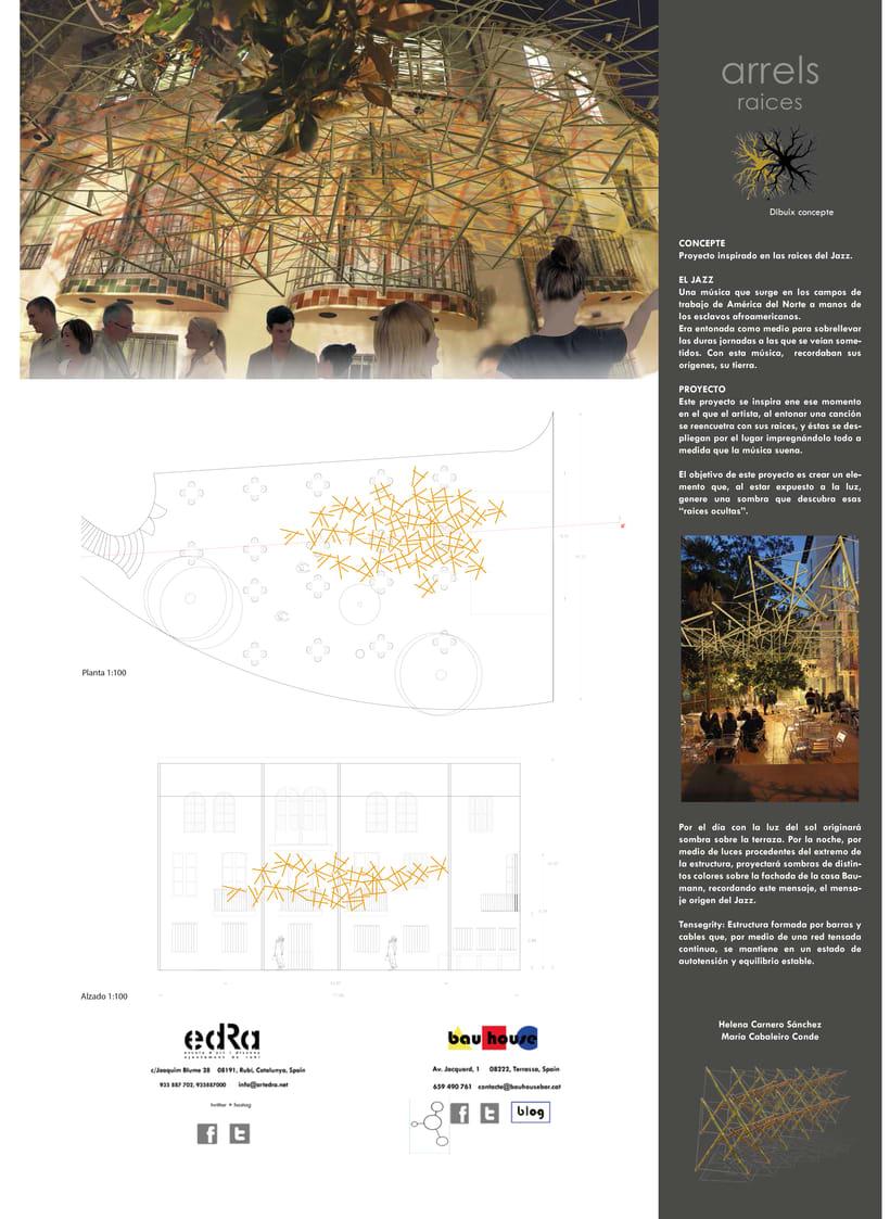Proyecto seleccionado:  Arrels ( 2º curso Interiorismo gráfico ) -1