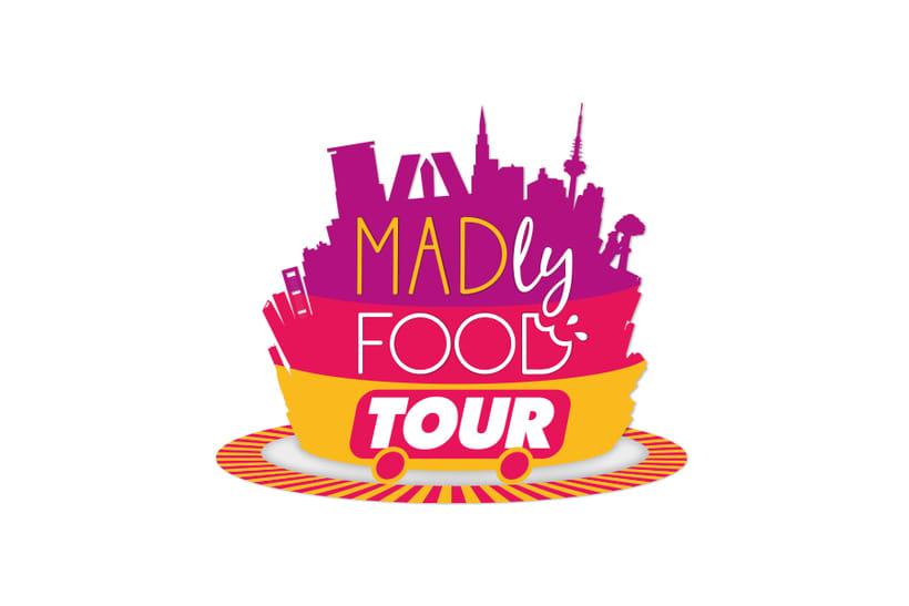 Madly Food Tour - Identidad visual 2