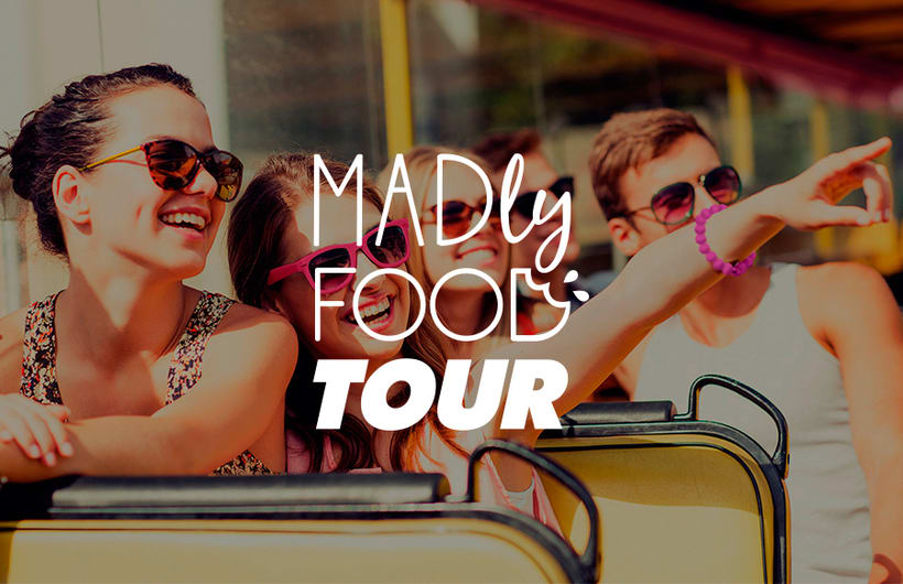 Madly Food Tour - Identidad visual 0