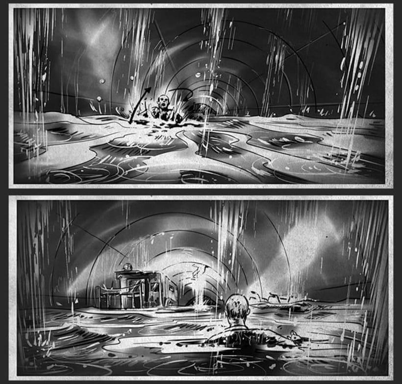 Cien años de perdón - Daniel Calparsoro (Film Concept art & Storyboards) 1