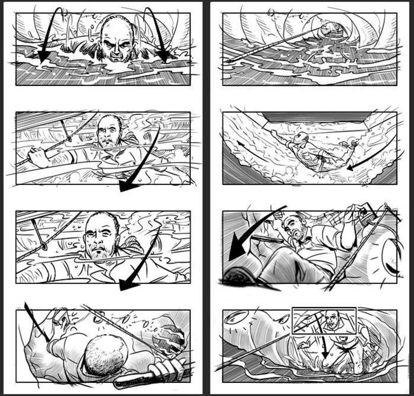 Cien años de perdón - Daniel Calparsoro (Film Concept art & Storyboards) 4