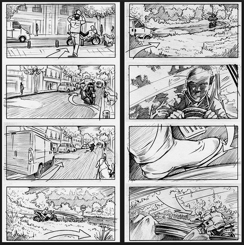 La piel que habito / The king I live in - Pedro Almodóvar (Film storyboards) -1