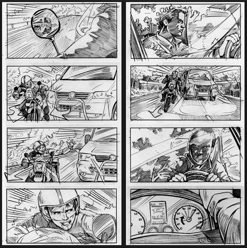 La piel que habito / The king I live in - Pedro Almodóvar (Film storyboards) 0
