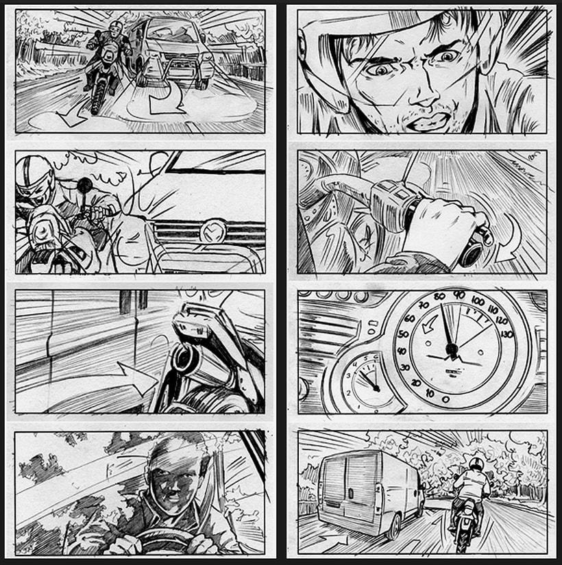 La piel que habito / The king I live in - Pedro Almodóvar (Film storyboards) 2