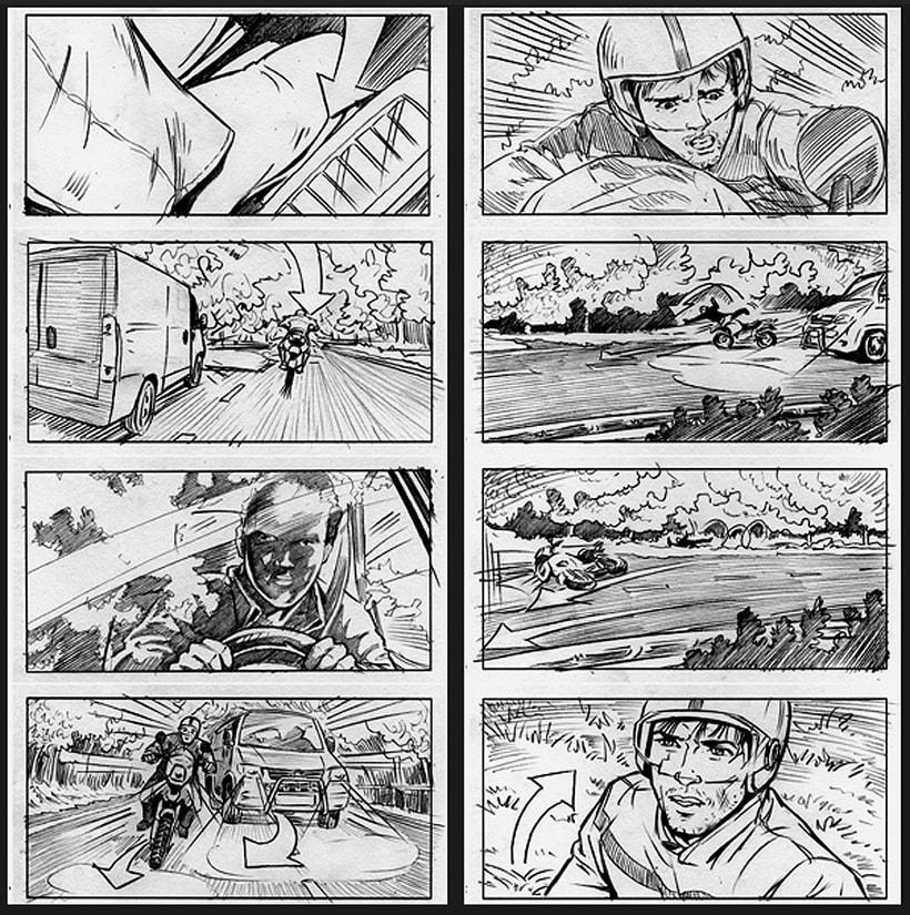 La piel que habito / The king I live in - Pedro Almodóvar (Film storyboards) 3