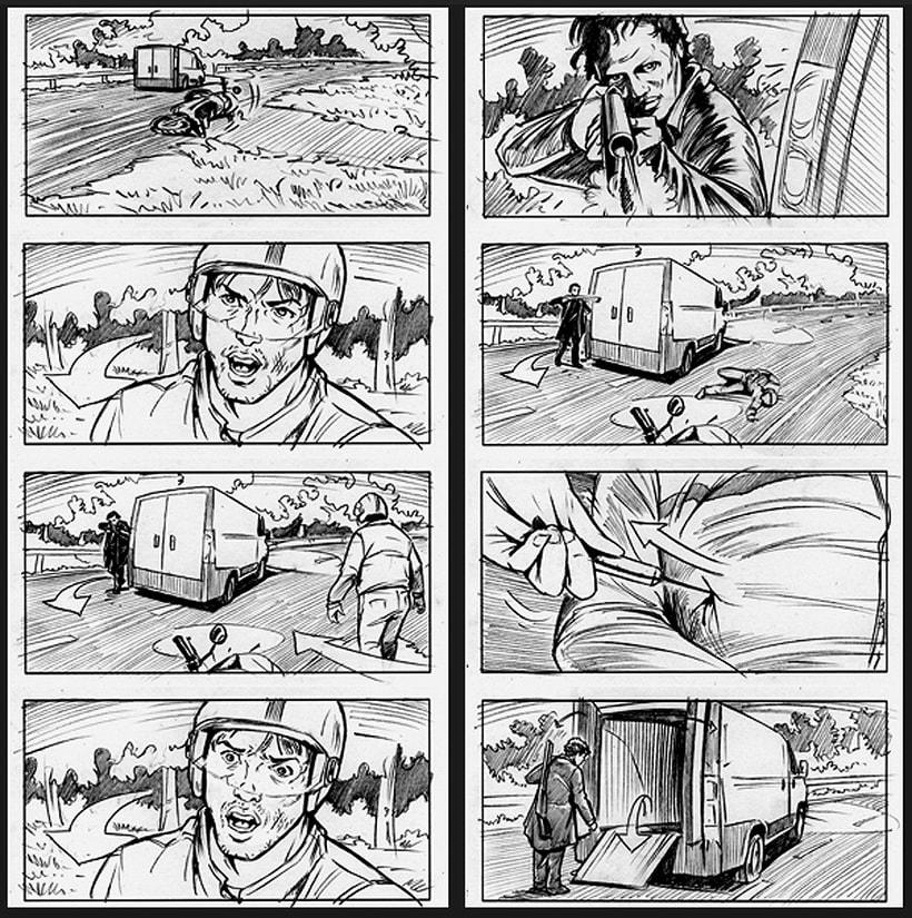 La piel que habito / The king I live in - Pedro Almodóvar (Film storyboards) 4