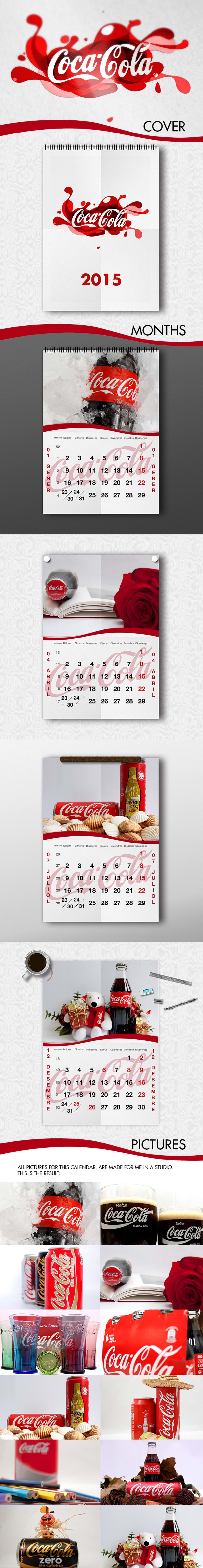 CocaCola Calendar 2015 -1