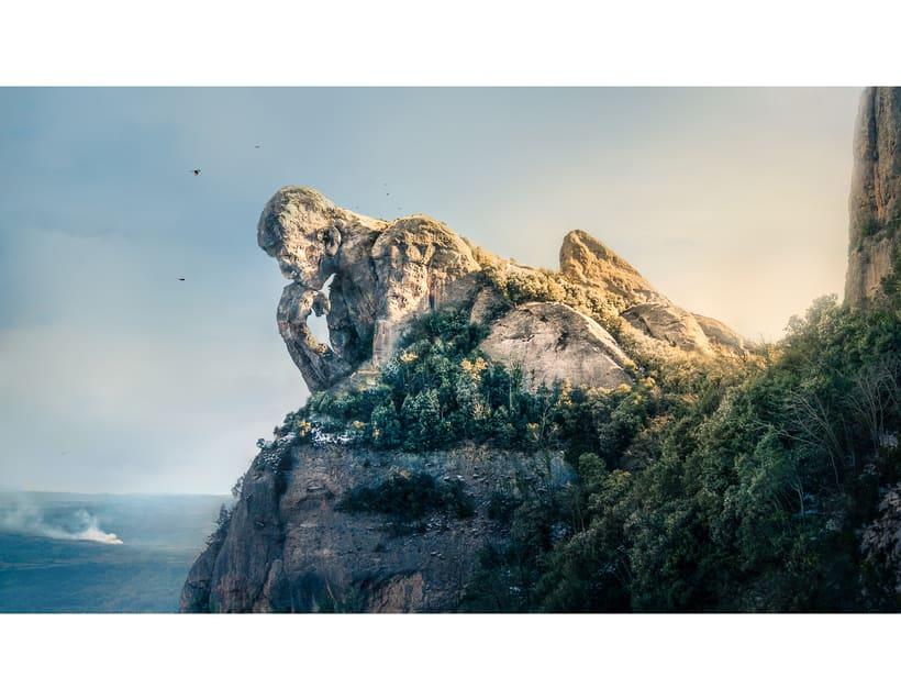 The thinking mountain.  -1