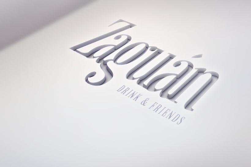 Logotipo. Bar Zaguán 0