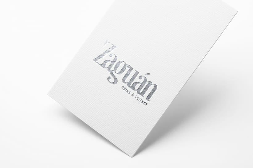 Logotipo. Bar Zaguán 2