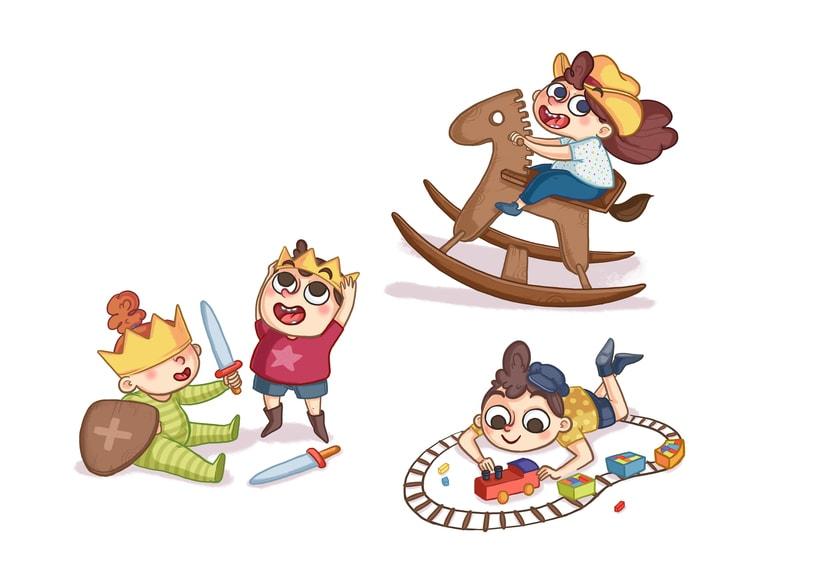 Ilustración digital Infantil 3