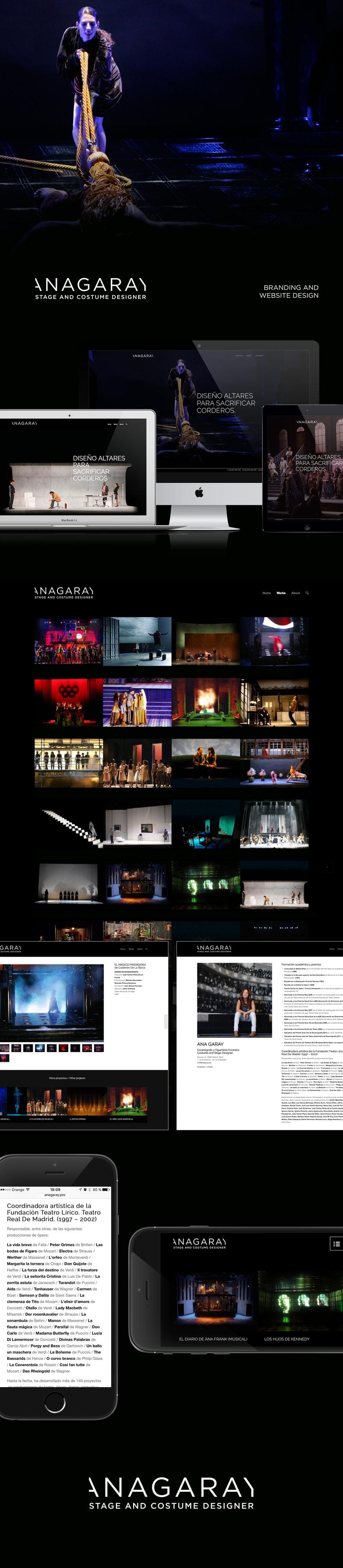 Ana Garay: Website & Branding Design -1