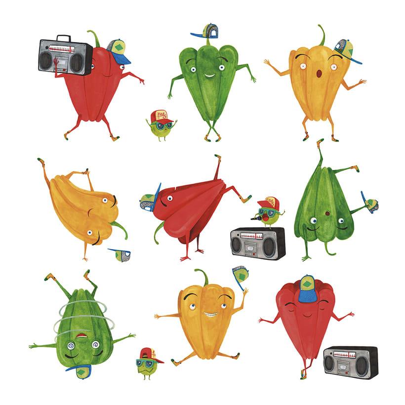 La rebelión de las verduras 1