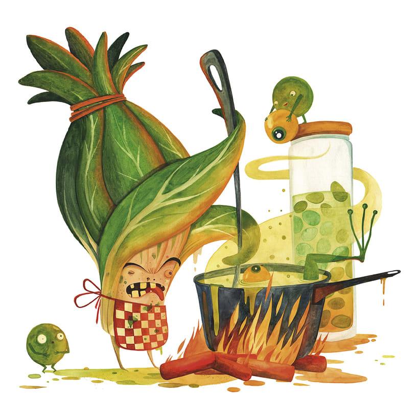 La rebelión de las verduras 3