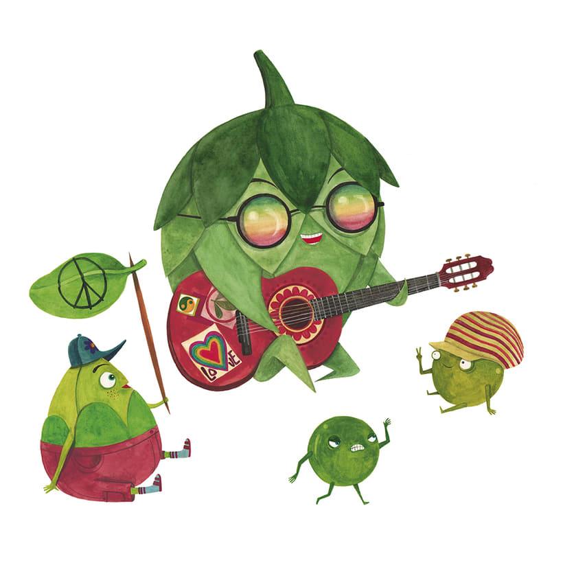 La rebelión de las verduras 4