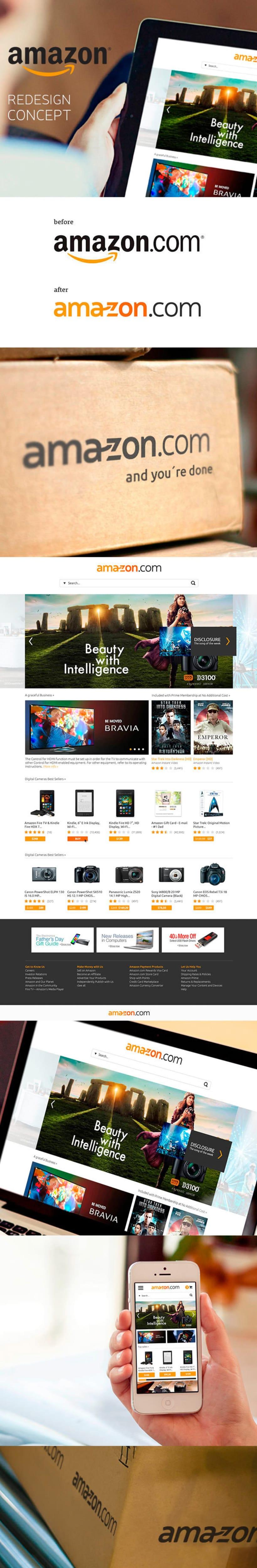 Amazon Redesign -1