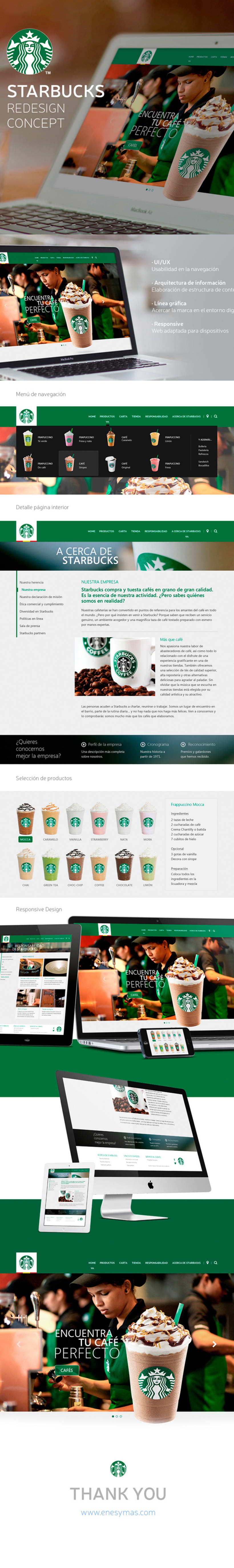 Starbucks Redesign 0