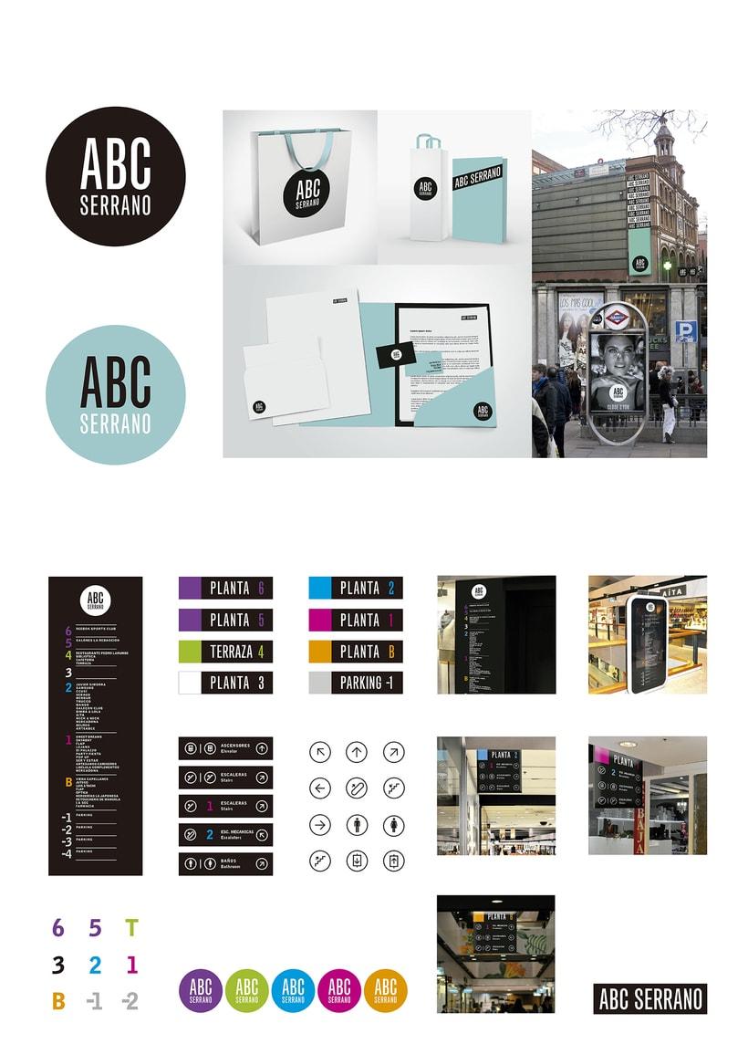 Proyecto Ganador del Concurso de Resiseño de Logo Y Señalética para ABC Serrano  -1