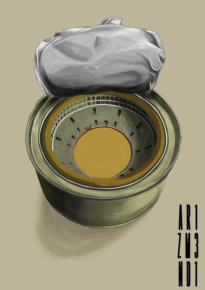 Las Ventas dentro de una lata de atún!! -1
