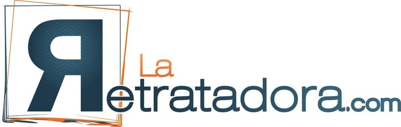 Logo - La Retratadora 2