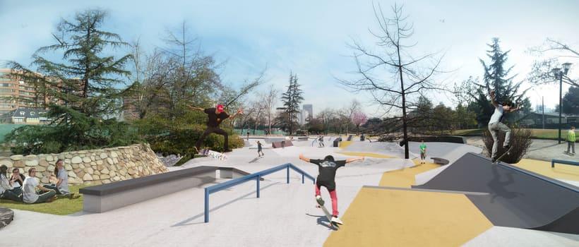 Nuevo Skatepark para la comuna de Vitacura 0