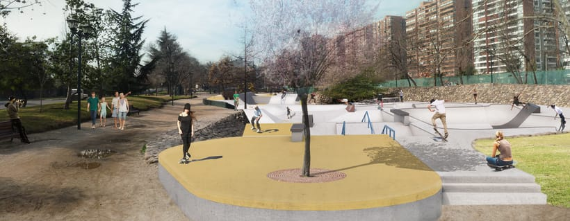 Nuevo Skatepark para la comuna de Vitacura 1