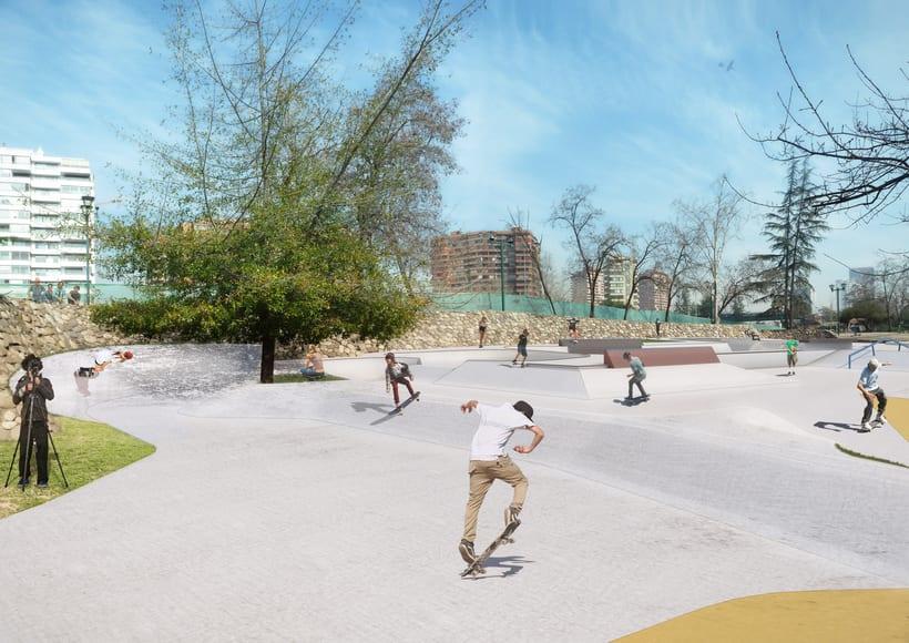 Nuevo Skatepark para la comuna de Vitacura 2