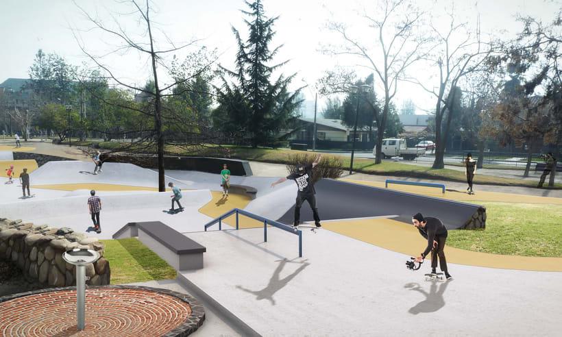 Nuevo Skatepark para la comuna de Vitacura 4