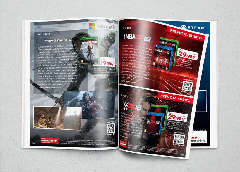 GameStop Magazine -1