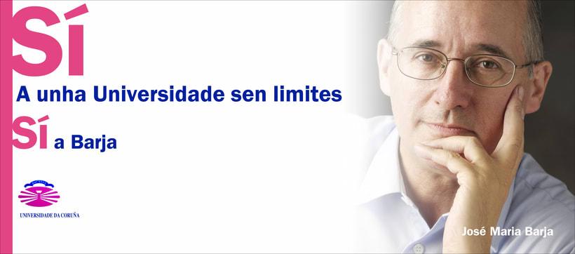 Campaña candidatura Nova Luce á Reitoría. Universidade da Coruña 0