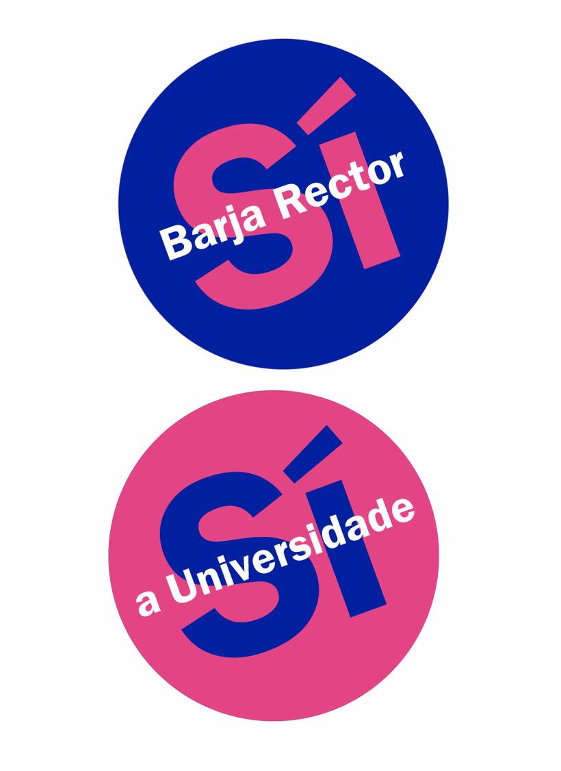 Campaña candidatura Nova Luce á Reitoría. Universidade da Coruña 4
