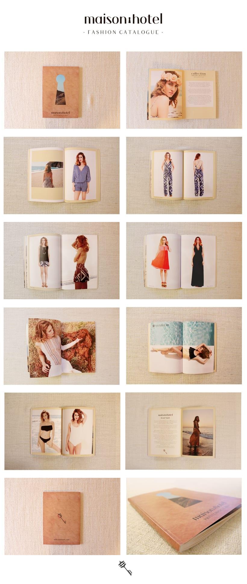 Branding de moda completo para maison hôtel (www.maisonh.com) 6