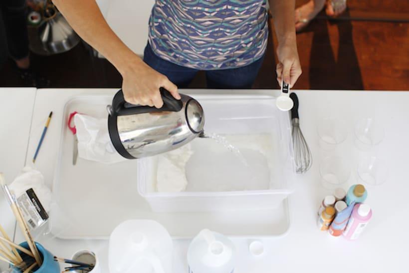 Tutorial: Cómo hacer papel marmoleado 3