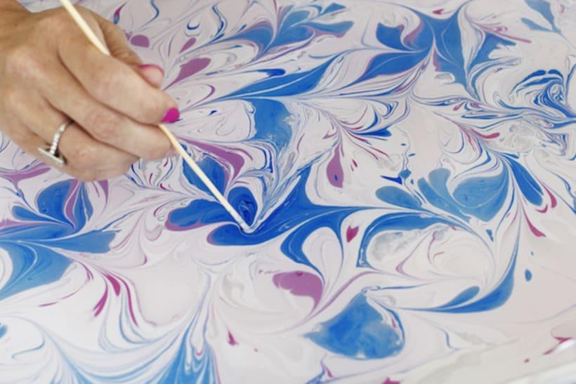 Tutorial: Cómo hacer papel marmoleado 10