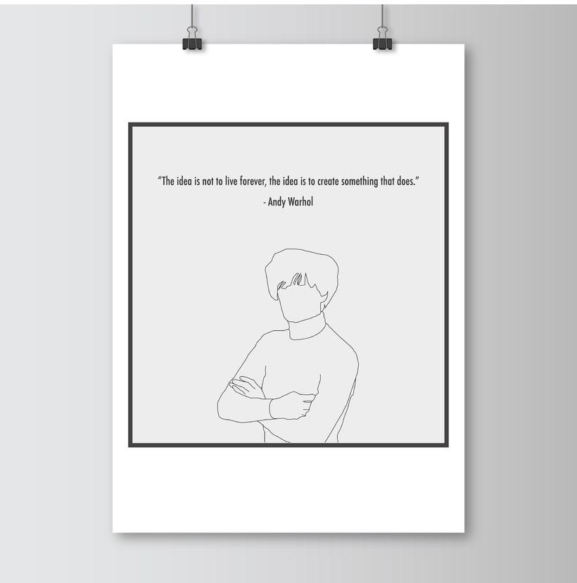 Ilustraciones Andy Warhol -1