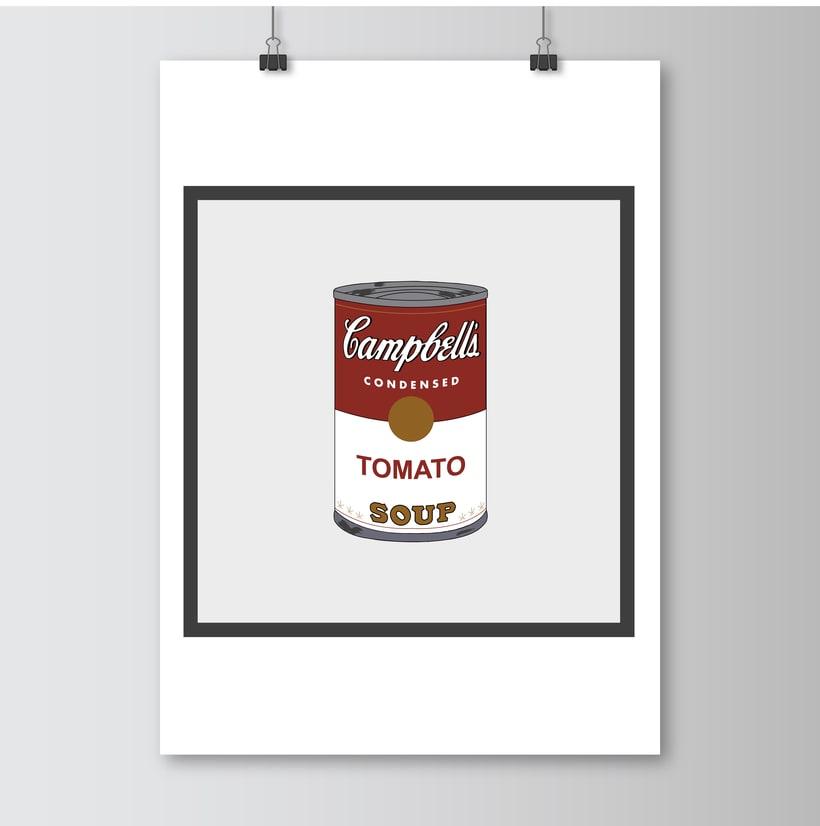 Ilustraciones Andy Warhol 2
