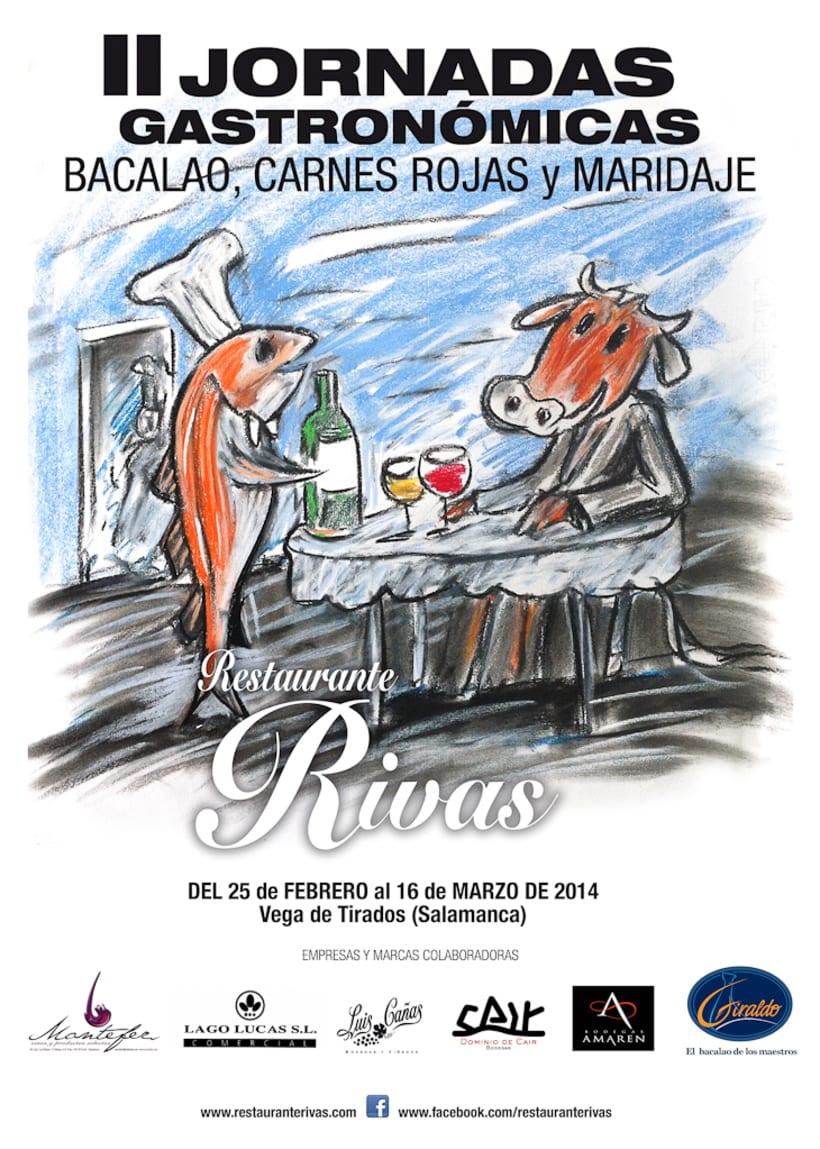 CARTELES RESTAURANTE RIVAS 1