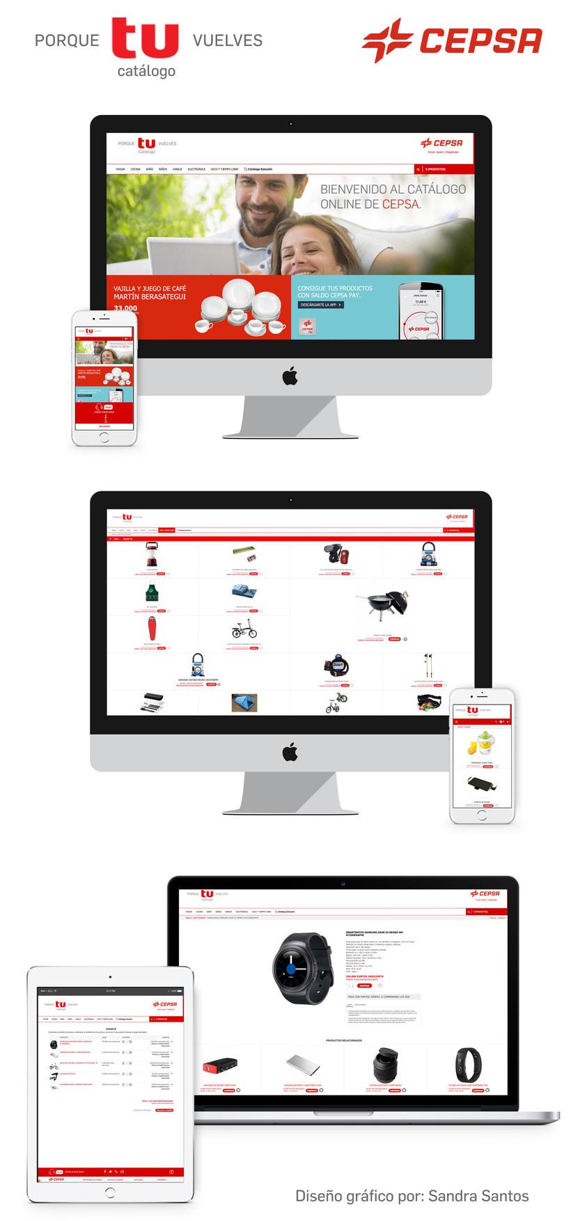 Diseño gráfico responsive para la tienda CEPSA -1
